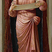 Angels Poster by John Melhuish Strudwick