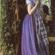 April Love Poster by Arthur Hughes