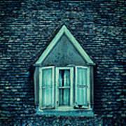 Attic Window Poster by Jill Battaglia