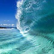 Barrel Swirl Poster by Sean Davey