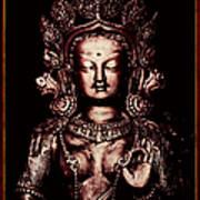 Buddhist Tara Deity Poster by Tim Gainey