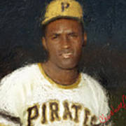 Clemente Poster by Thomas Churchwell