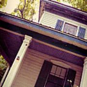 Creepy Old House Poster by Jill Battaglia