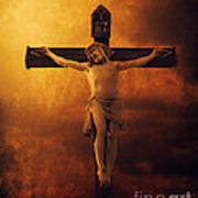 Crucifixcion Poster by Jelena Jovanovic