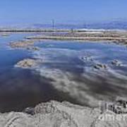 Dead Sea Landscape Poster by Dan Yeger