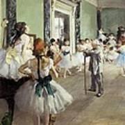 Degas, Edgar 1834-1917. The Dancing Poster by Everett