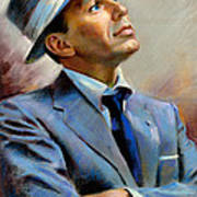 Frank Sinatra  Poster by Ylli Haruni