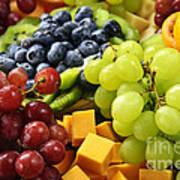 Fresh Fruits Poster by Elena Elisseeva