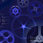 Gears Poster by Michal Boubin