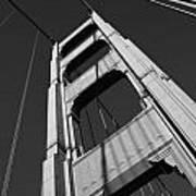 Golen Gate Tower Poster by Darren Patterson