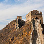 Great Wall Of China Poster by Fototrav Print
