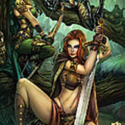 Grimm Fairy Tales Presents Black Diamond Exclusives Poster by Zenescope Entertainment
