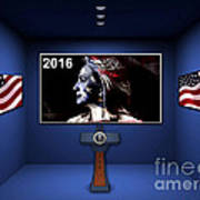 Hillary 2016 Poster by Marvin Blaine