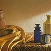 Inspired By Vermeer Poster by Barbara Groff