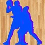 Kevin Durant Kobe Bryant Poster by Joe Hamilton