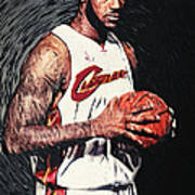 Lebron James Poster by Taylan Soyturk