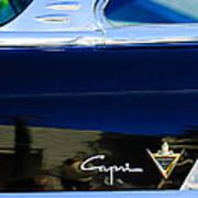 Lincoln Capri Emblem Poster by Jill Reger