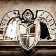 Lincoln Emblem Poster by Jill Reger