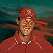 Michael Schumacher Poster by Paul Meijering