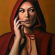 Monica Bellucci Poster by Paul Meijering