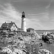 Portland Head Lighthouse Poster by Mike McGlothlen