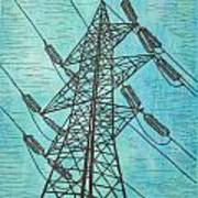 Power Poster by William Cauthern