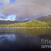 Rainbow Poster by Art Wolfe