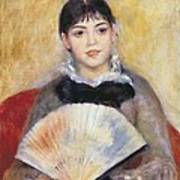 Renoir, Pierre-auguste 1841-1919. Girl Poster by Everett