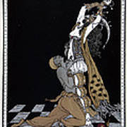 Scheherazade Poster by Georges Barbier
