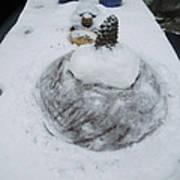 Snow Fall Serie December 2012  Poster by Colette V Hera  Guggenheim