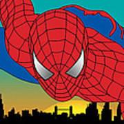 Spiderman  Poster by Mark Ashkenazi