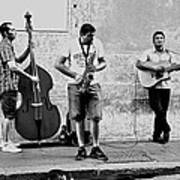 Street Musicians Of Rome Poster by Mountain Dreams