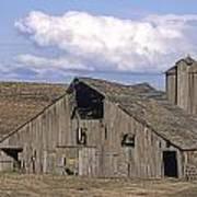 The Lewiston Breaks Barn Poster by Doug Davidson