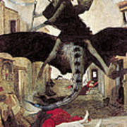 The Plague Poster by Arnold Bocklin
