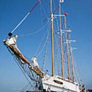 The Tall Ship Windy Poster by Dale Kincaid