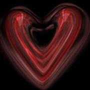 Valentine Poster by Christopher Gaston