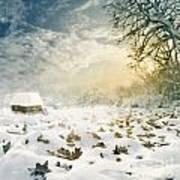 Winter Poster by Jelena Jovanovic