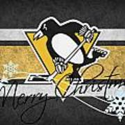 Pittsburgh Penguins Poster by Joe Hamilton