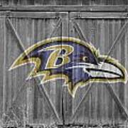 Baltimore Ravens Poster by Joe Hamilton