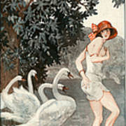 La Vie Parisienne  1923 1920s France Poster by The Advertising Archives