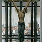 15. Jesus Dies / From The Passion Of Christ - A Gay Vision Poster by Douglas Blanchard