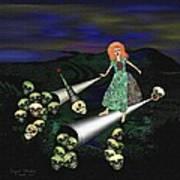 165 -   Lindas Nightwalk Poster by Irmgard Schoendorf Welch