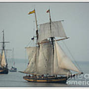 1812 Pride Of Baltimore II Poster by Marcia Lee Jones