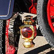 1911 Ford Model T Torpedo 4 Cylinder 25 Hp Taillight Poster by Jill Reger