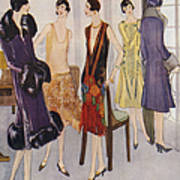 1920s Fashion  1925 1920s Uk Womens Poster by The Advertising Archives