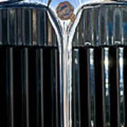 1932 Chrysler Hood Ornament Poster by Jill Reger
