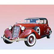 1935 Auburn 8 Phaeton 851 Poster by Jack Pumphrey