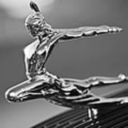 1935 Pontiac Sedan Hood Ornament 4 Poster by Jill Reger