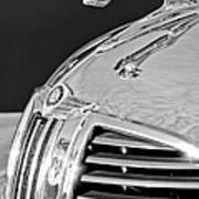 1938 Dodge Ram Hood Ornament 4 Poster by Jill Reger