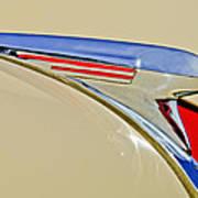 1940 Chevrolet Pickup Hood Ornament 2 Poster by Jill Reger